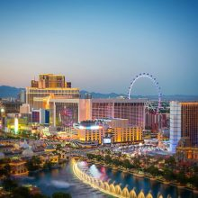 Photograph of the Las Vegas Strip in Nevada