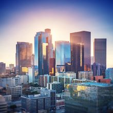 Photograph of Downtown Los Angeles California