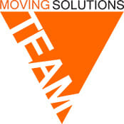 move on moving moving solutions logo triangle