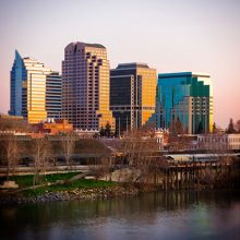 Photograph of Downtown Sacramento California
