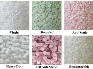 anti static packing peanuts for moving electronics
