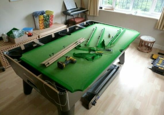 How to Move a Pool Table (The Ultimate Guide)