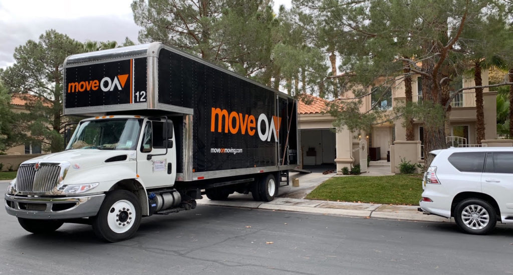 move on moving helping a customer relocate long distance moving
